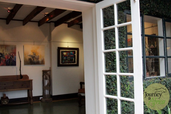 Art Gallery in the main lounge area. They offer shipping to your home.